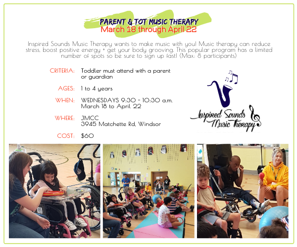 JMCC - Parent and Tot Music Therapy @ JMCC