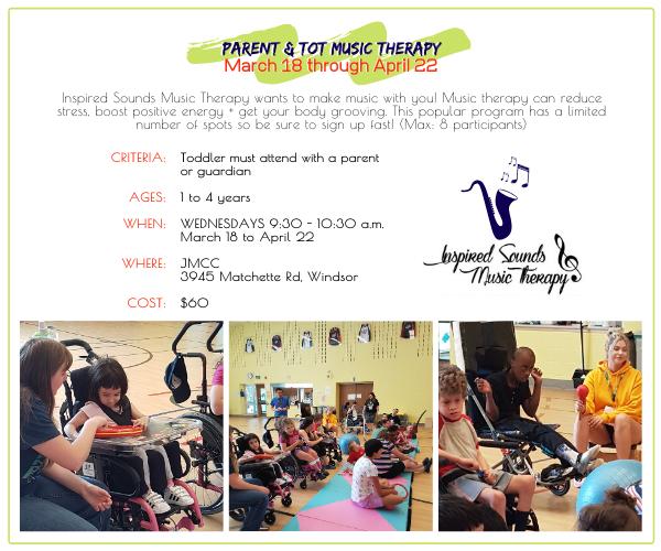 JMCC - Parent and Tot Music Therapy @ JMCC