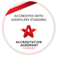 Accredited with Exemplary Standing – Accreditation Canada
