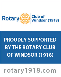 Proudly supported by the Rotary Club of Windsor 1918