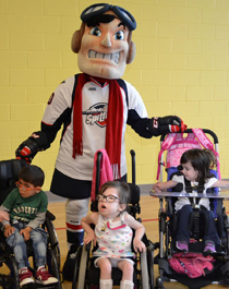 MasterCard Memorial Cup Legacy Project Smilezone