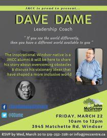 Dave Dame flyer