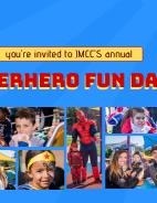 Superhero Fun Day poster
