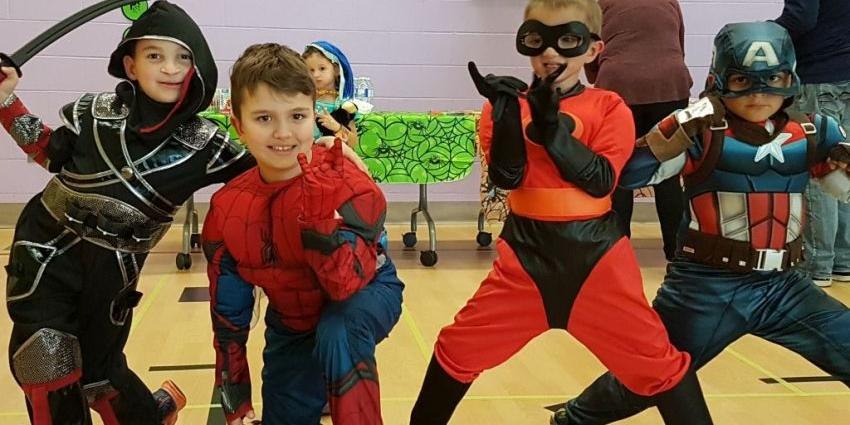 Cleft Lip and Palate super heroes