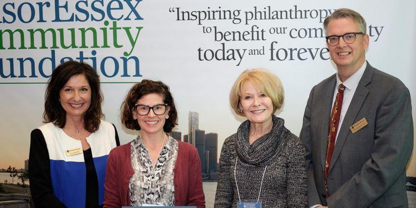 Community Impact Grant presentation