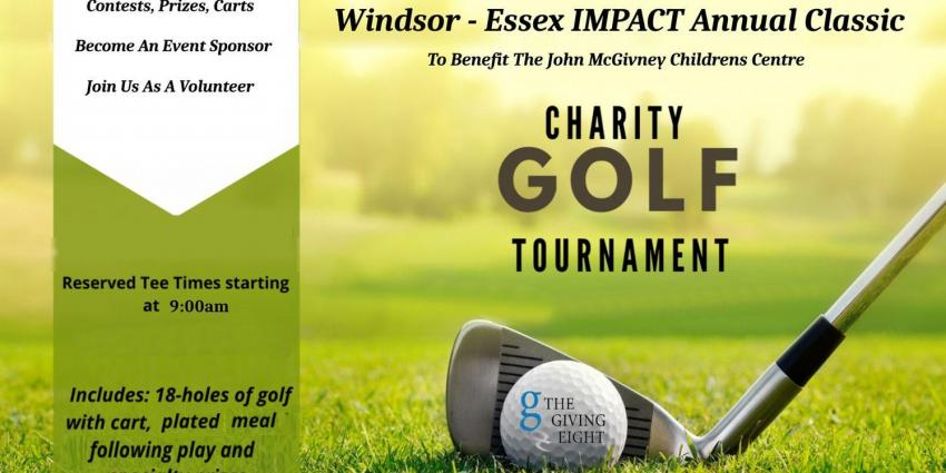 The Giving Eight Windsor-Essex IMPACT Annual Charity Golf Tournament