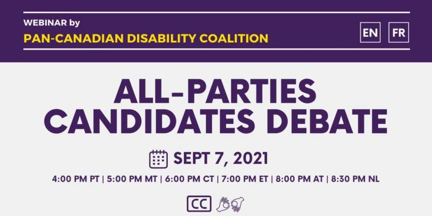 All Parties Candidates Debate image